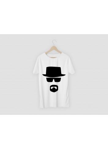 Breaking Bad Heisenberg Men's White T-Shirt