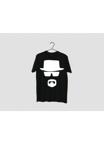 Breaking Bad Heisenberg Men's Black T-Shirt