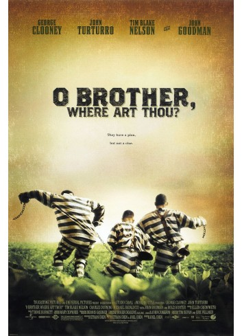 O Brother, Where Art Thou? Poster 35X50