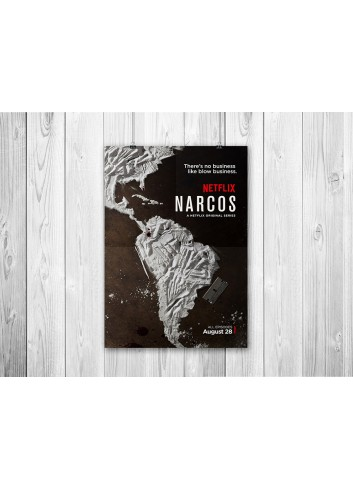 Narcos Series Poster 35X50