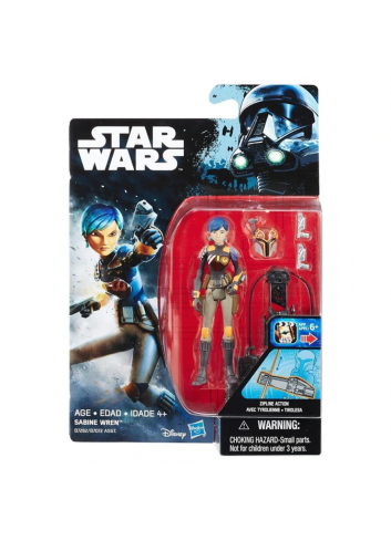 Star Wars Sabine Wren Figurine B7072