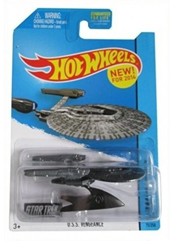 Star Frek U.S.S. VENGEANCE Hot Wheels 8 cm Lisanslı