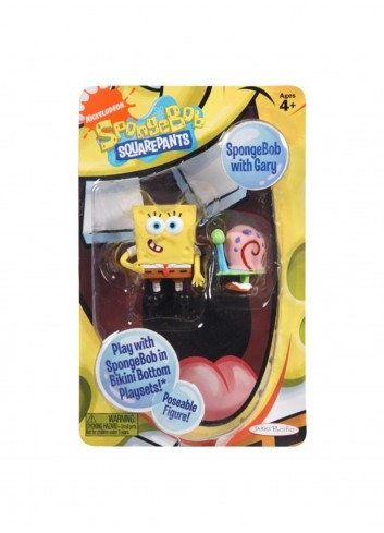 SpongeBob and Gary Figure