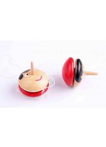 Nani Toys 2 Wooden Pinocchio Yoyo Set