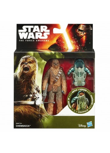 "Star Wars la forza risvegliare Chewbecca Armour fino 3.75"" Action Figure"