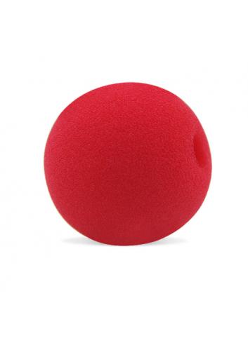 5 cm (2 inch) Kırmızı Sünger Palyaço Burnu / Sünger Top