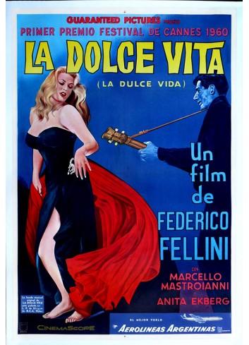 La Dolce Vita Poster 35X50