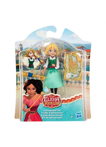 Disney Elena Avalor Naomi Astronomer Set