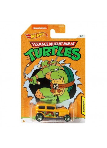 Hot Wheels Teenage Mutant Ninja Turtles Michelangelo Midnight Otto
