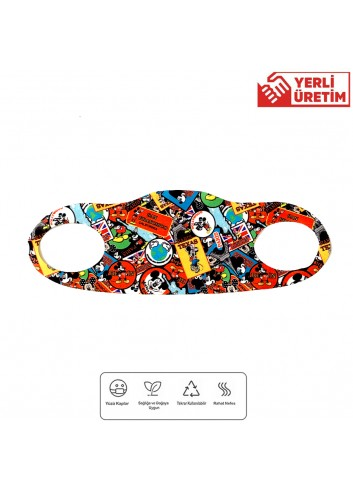 Mickey Mouse Children Face Mask (100 Pieces)