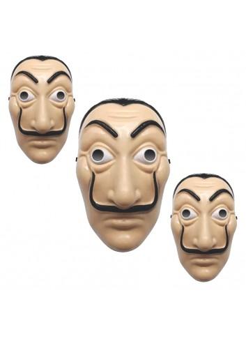Salvador Dali Plastic Mask La casa de papel Mask (100 Pieces)