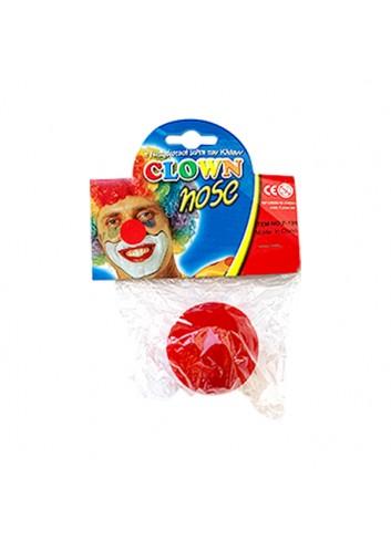 5cm (2inch) Red Sponge Clown Nose/Sponge Ball (100 Pieces)