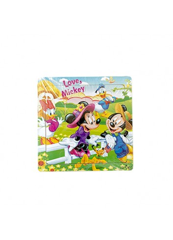 Minnie and Mickey Mouse Mini Jigsaw Puzzle (100 Pieces)