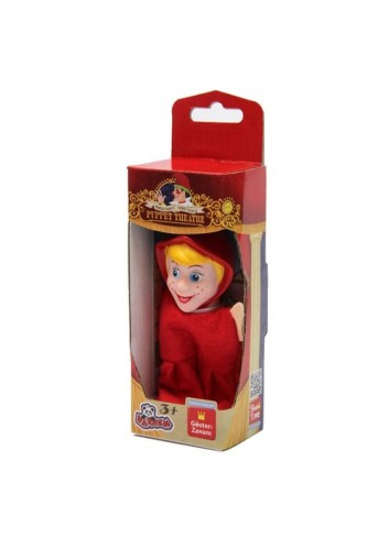 Little Red Riding Hood 7316-Yw Boxed 10 cm Vinyl Finger Puppet Vardem Toy (100 Pieces)