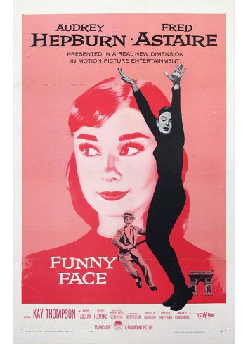 Funny Face Poster 35 x 50 (100 Pieces)