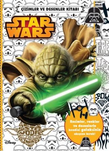 Star Wars Çizimler ve Desenler Kitabı (Türkçe Kitap)