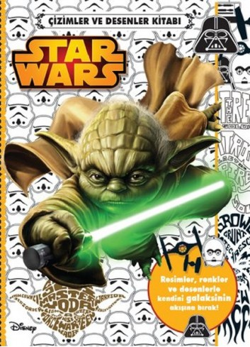 Star Wars Cizimler ve Desenler Kitabi (Turkish Book)