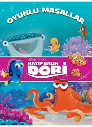 Disney Kayıp Balık Dori - Oyunlu Masallar (Türkçe Kitap)