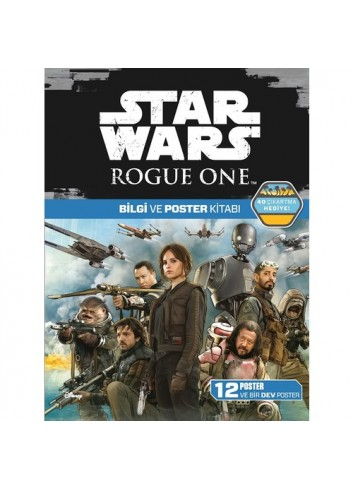 Disney Star Wars: Rogue One Bilgi Ve Poster Kitabı (Türkçe Kitap)
