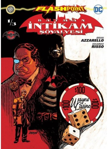 Batman Intikam Sovalyesi Sayi 1 Flashpoint (Turkish Book)