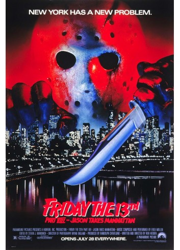 Friday the 13th Poster 35X50