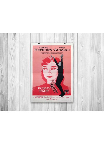 Funny Face Poster 35X50