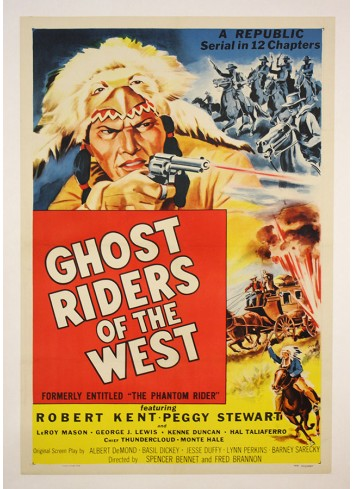 Ghost Riders of the West Poster 35X50