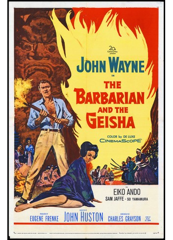 The Barbarian and the Geisha Poster 35X50