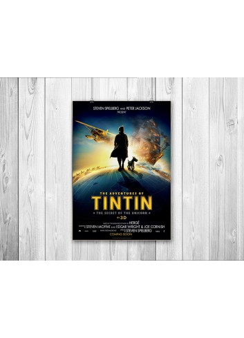 The Adventures of Tin Tin: The Secret of the Unicorn Poster 35X50