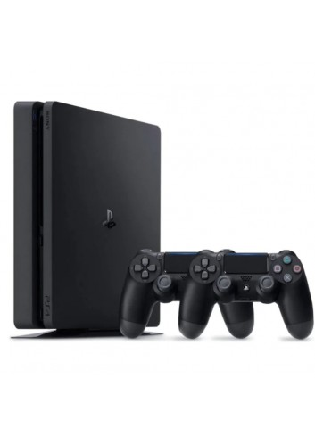 Sony Ps4 Slim 1 Tb + 2. Kol Eurasia (2 YEARS EURASIA GUARANTEED)