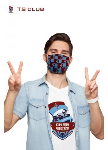 Trabzonspor Özel Baskılı Cerrahi Maske (50 Adet)