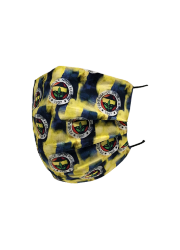 Fenerbahçe Double-Sided Colorful Logo Mask