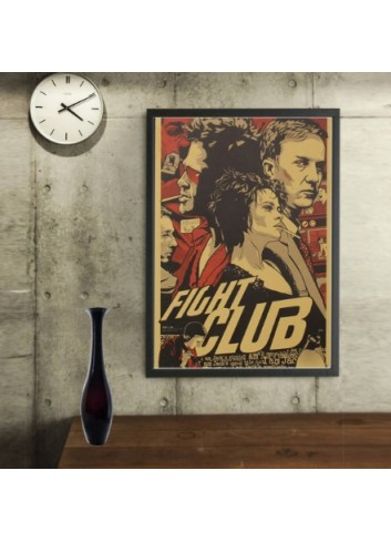 Fight Club Poster 35x50 Wall