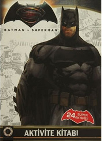 Batman v Superman Activity Book (Turkish Book)