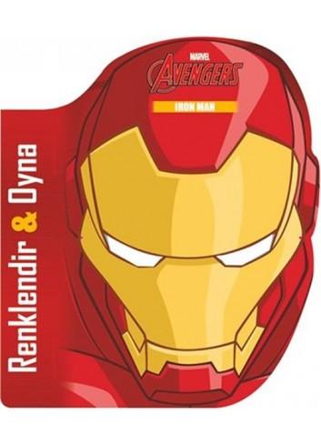 Marvel Avengers Iron Man Renklendir Oyna (Türkçe Kitap)