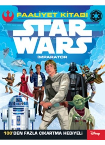 Disney Star Wars - İmparator - Activity Book (Turkish Book)