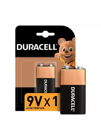 Duracell Alkaline 9 Volt Battery Single Pack
