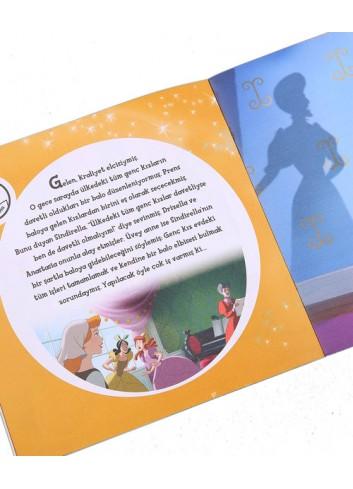 Disney Sindirella Cam Ayakkabılar Çıkartmalı Öykü Kitabı (Turkish Book)