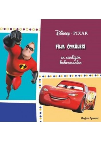 Disney Pixar Film Öyküleri (Turkish Book)
