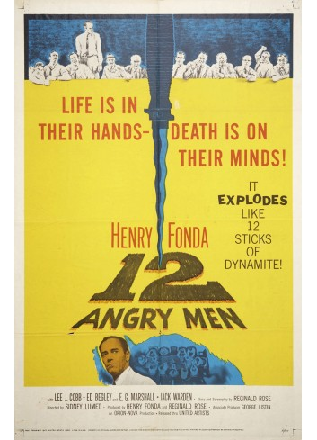 12 Angry Man Poster 50X70