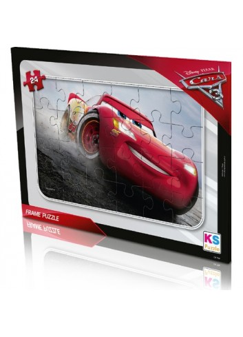 KS Games Cars Frame Puzzle 24 Pieces