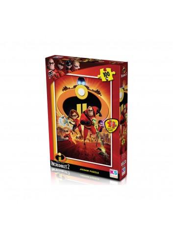 KS Games Incredibles 2 Puzzle 100 Parça
