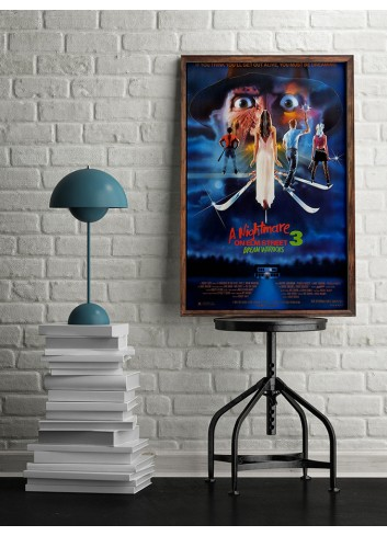 A Nightmare On Elm Street-Dream Warriors Poster 50X70