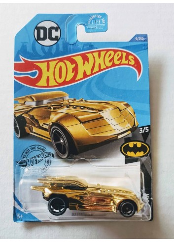 Hot Wheels 2020 Batman Series DC Comics Batmobile GLN68 (Gold Chrome)