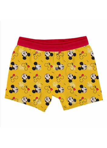 Licensed Mickey Mouse Boy Boxer, Red, 5-6