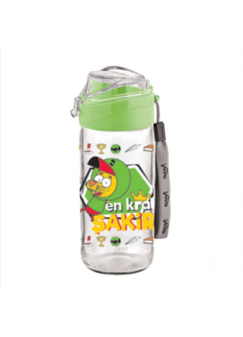 Waterbottle and Tumbler with Straw - Green Water Bottle