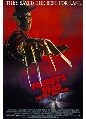 A Nightmare On Elm Street-The Final Nightmare Poster 50X70
