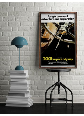 2001:A Space Odyssey Poster 50X70