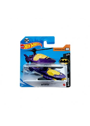 Hot Wheels 2020 Batman Serisi Batcopter (Mor) GHF75