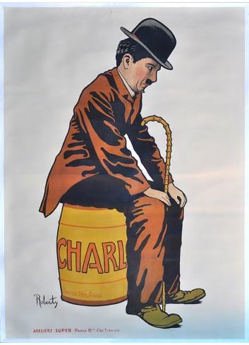 Chaplin Poster 50X70